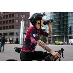 Biehler Pro Team - Maillot manches courtes Femme - rose/noir